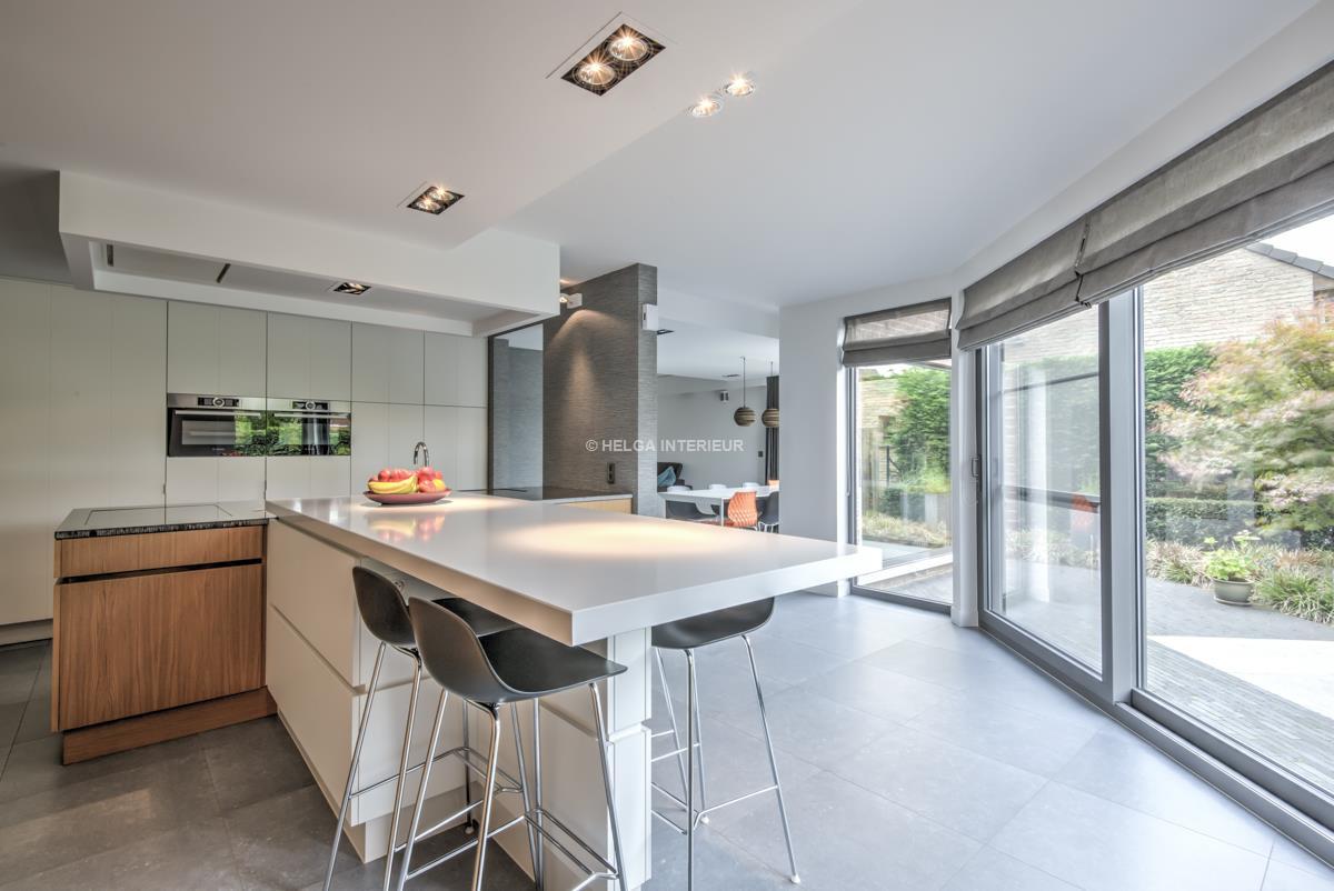 keuken en woonkamer Wommelgem | Helga Interieur Architectuur Antwerpen