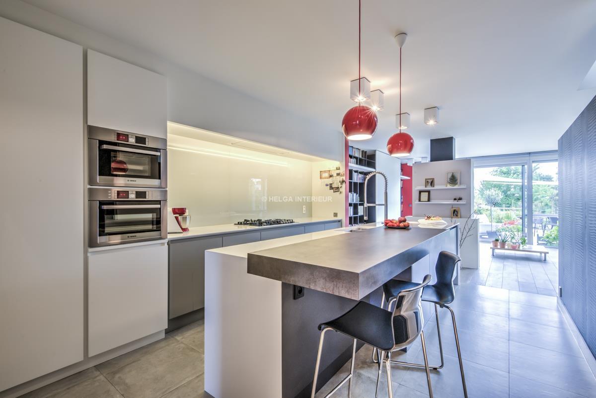Keuken nieuwbouw Wommelgem | Helga Interieur Architectuur Antwerpen