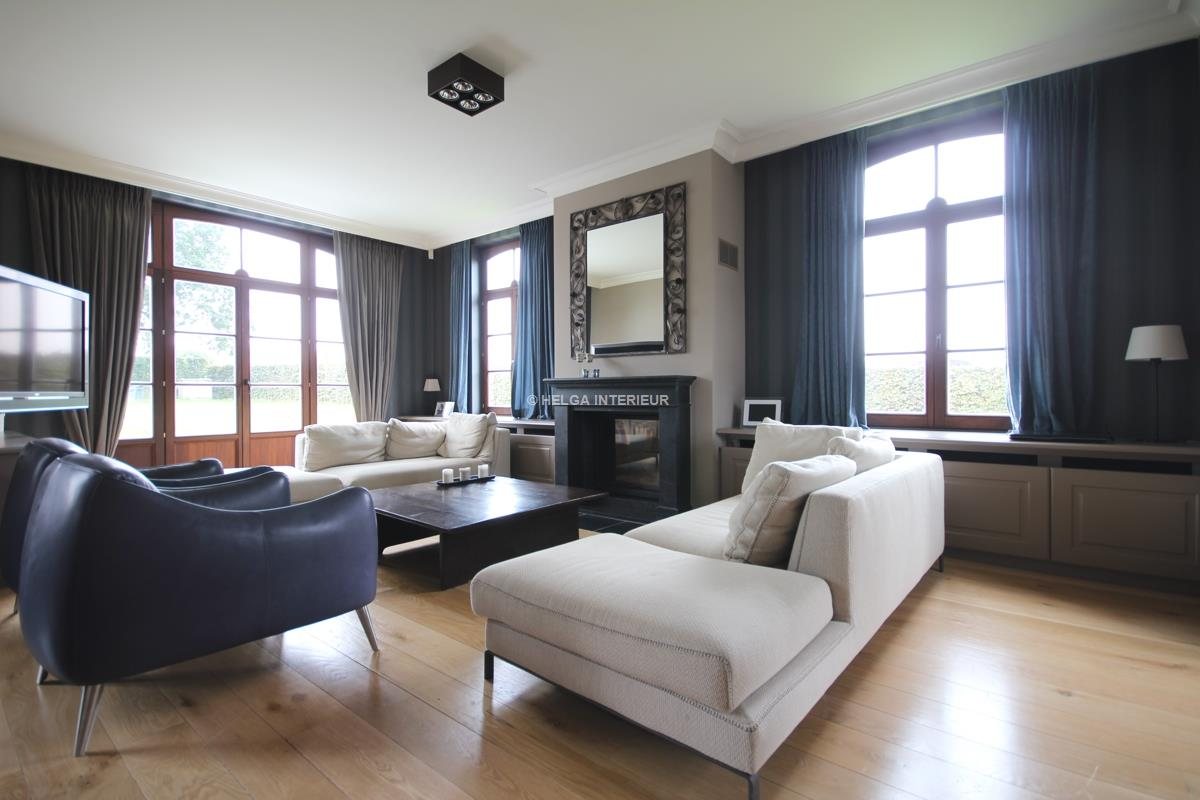 Woon- en eetkamer Bazel | Helga Interieur Architectuur Antwerpen