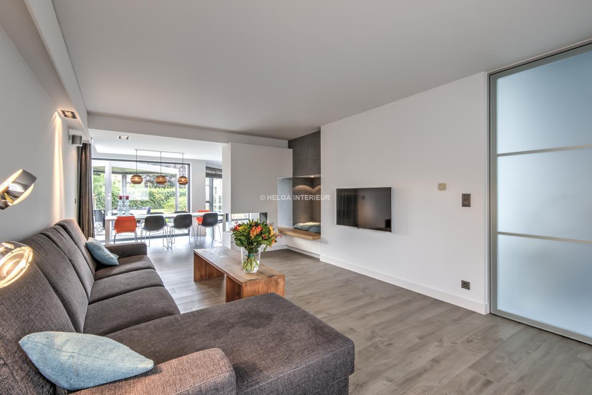 Interieur Design Woonkamer : Keuken en woonkamer wommelgem helga interieur architectuur antwerpen