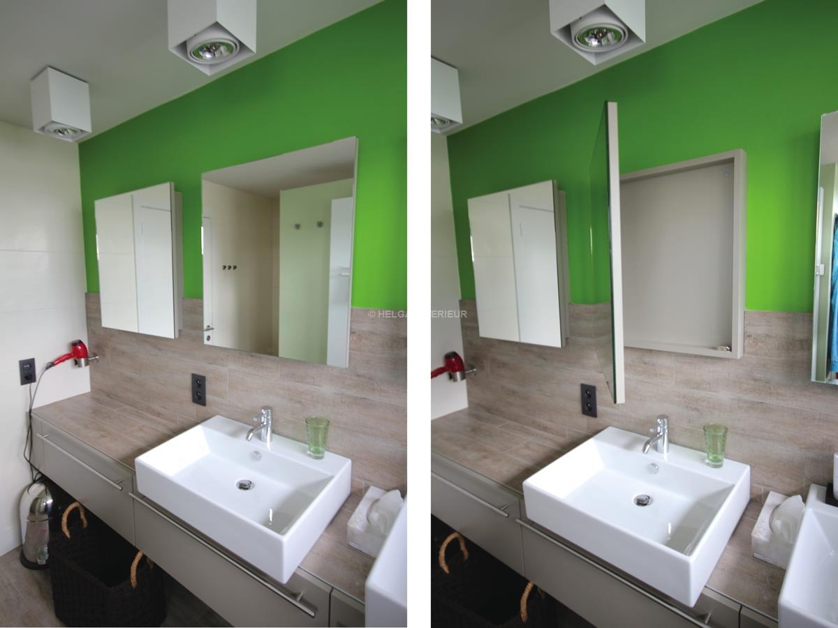 badkamer renovatie Wommelgem | Helga Interieur Architectuur Antwerpen